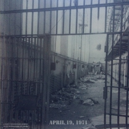 Cellblock after 1971 riot