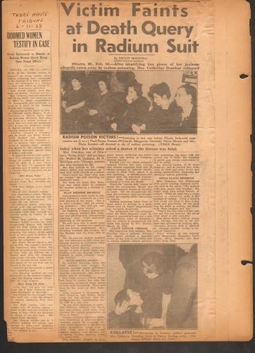 Museum of Heath - Blog - Newspaper Article