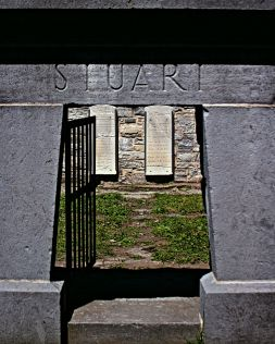 Entrance to the Stuart Lair