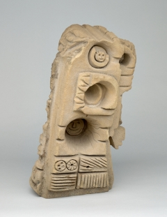 From The Beginning To The End To The Beginning, 1985 Sandstone 23 x 12 x 9.5 inches Collection of: Souls Grown Deep Foundation