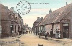 Postcard of Barlin, 1914
